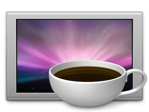 CAFFEINE UTILE APP GRATIS MAC CHE EVITA ALL'OCCORRENZA STANDBY CON UN CLICK SU BARRA DEI MENU' DISATTIVANDO RISPARMIO ENERGETICO