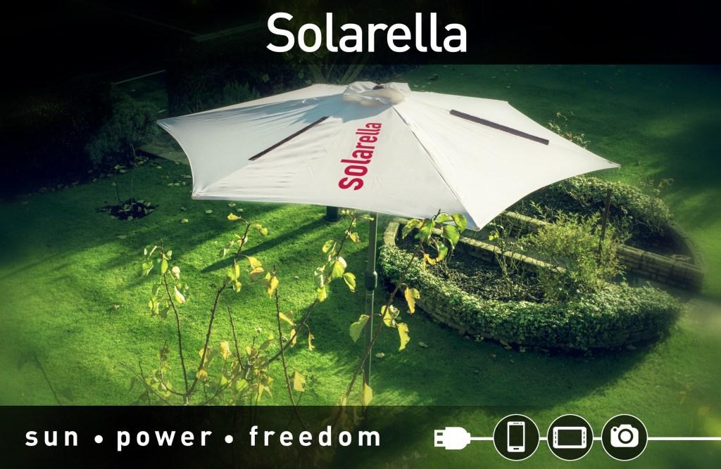 Solarella Ombrellone Ricarica smartphone