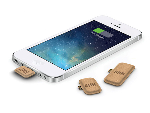 MINI POWER LA BATTERIA PILLOLA DI EMERGENZA PER IPHONE ECOSOSTENIBILE