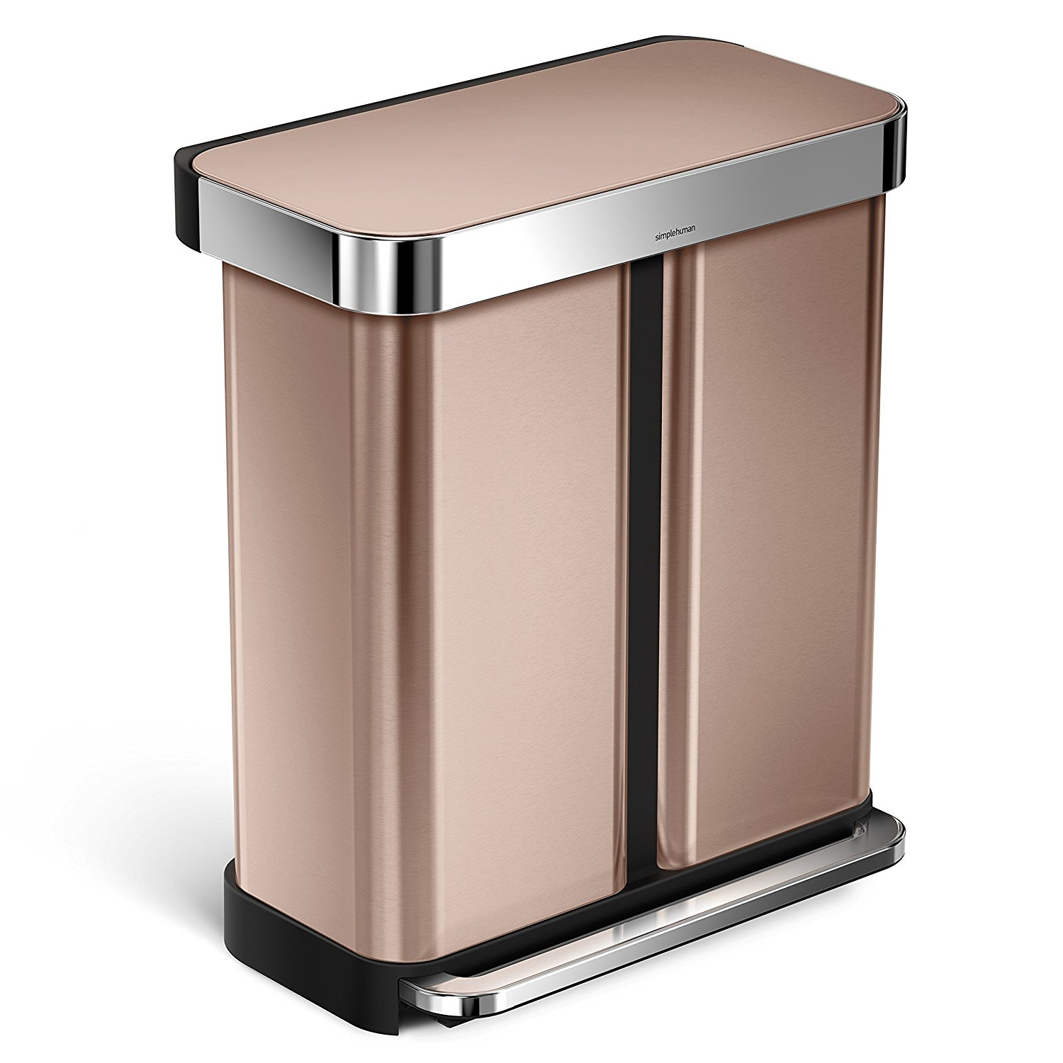 Pretty Kitchen Trash Cans Copper Kitchenware