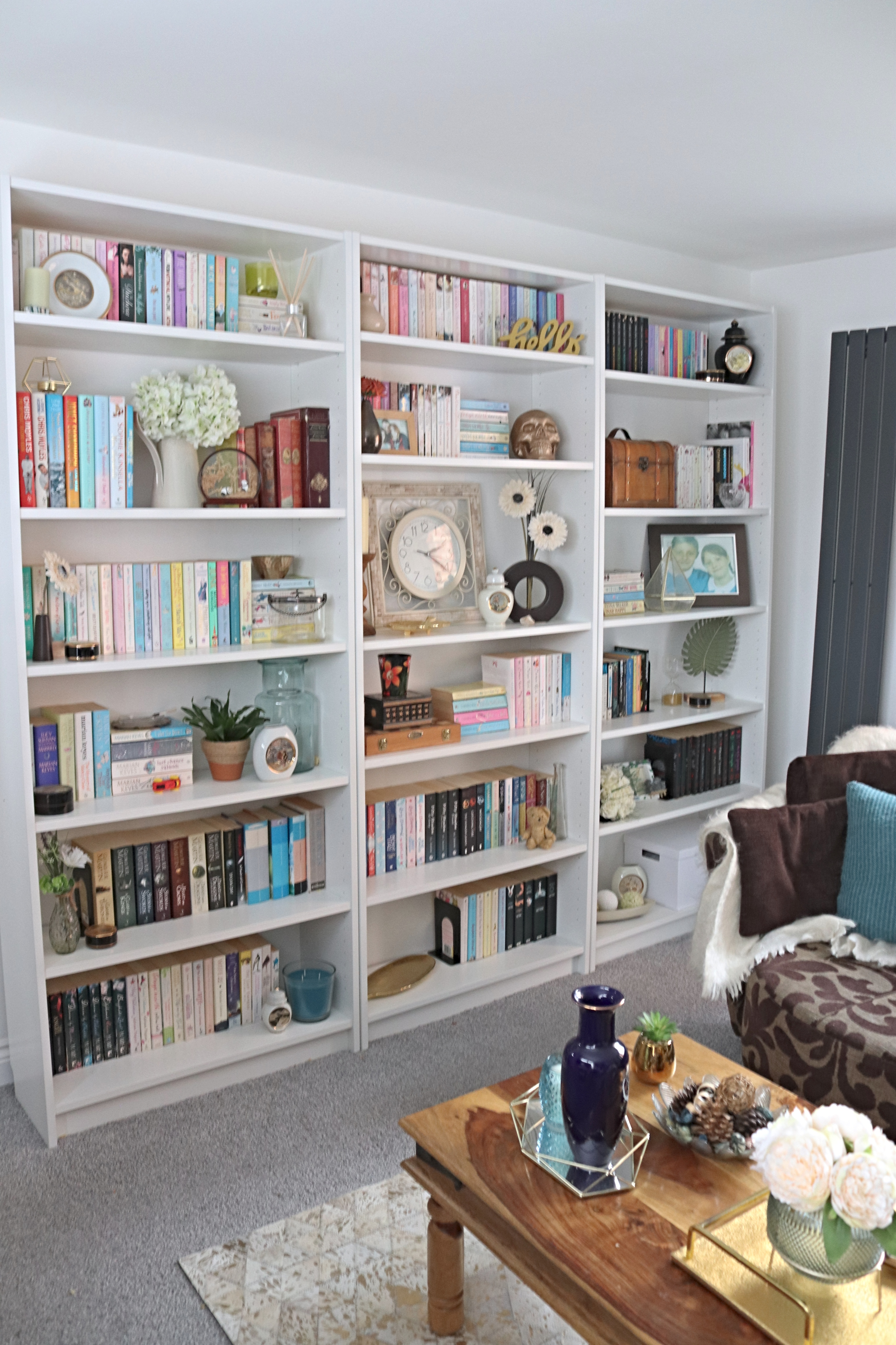 Ikea Billy Bookcase Hack For Our Living Room Makes Bakes And Decor