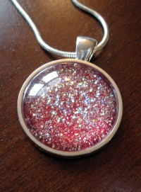 DIY Glitter Pendant | Make Something Mondays!
