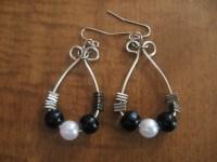 DIY Beaded Hoop Wire-Wrapped Earrings | Make Something ...