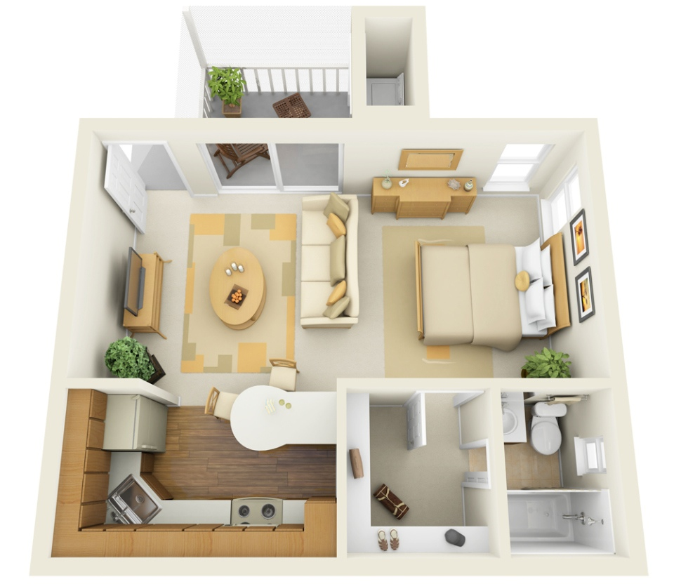 What Are Studio Apartments 11 Ways To Divide A Studio Apartment Into Multiple Rooms