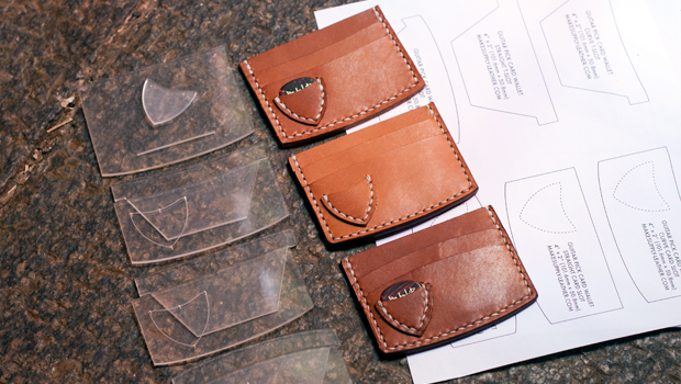 MAKESUPPLY - Leathercraft tutorials, Leather Templates, Leathercraft - wallet designs templates