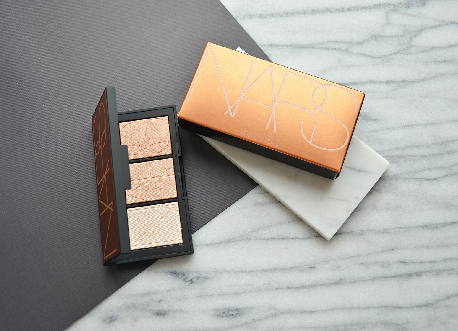 Banc Palette Nars Banc De Sable Highlighter Palette Makeup Sessions