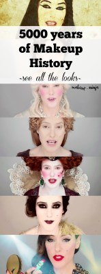 5000 years of Makeup History