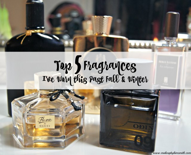 Top 5 Fragrance for Fall winter