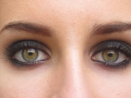 Crazy Smokey Eye Makeup