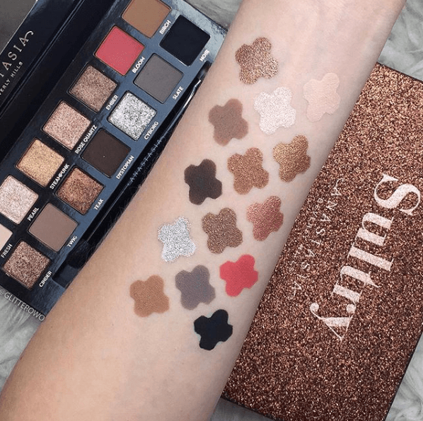 Makeup Blog Eyeshadow Palette Anastasia Beverly Hills Sultry Palette Review Makeup Fomo