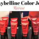 Maybelline Color Jolt Lip Paint Review