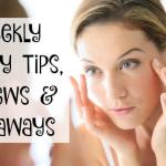 Beauty Tips and Giveaways