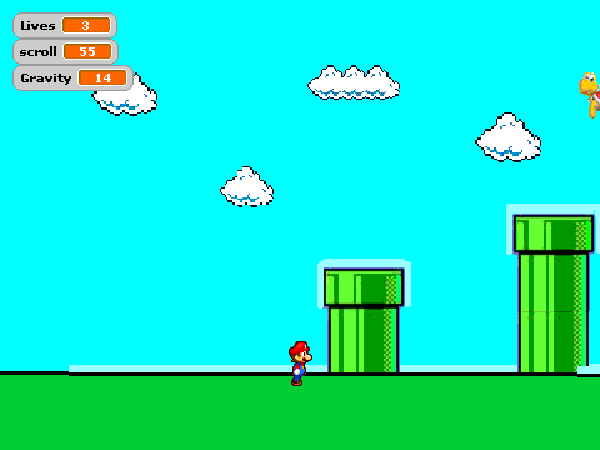 Though We Make Everything Fresh From Scratch On Premises Scrolling Mario Game In Scratch Make