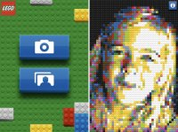 LEGO Photo app converts photo to LEGO mosaic   Make: