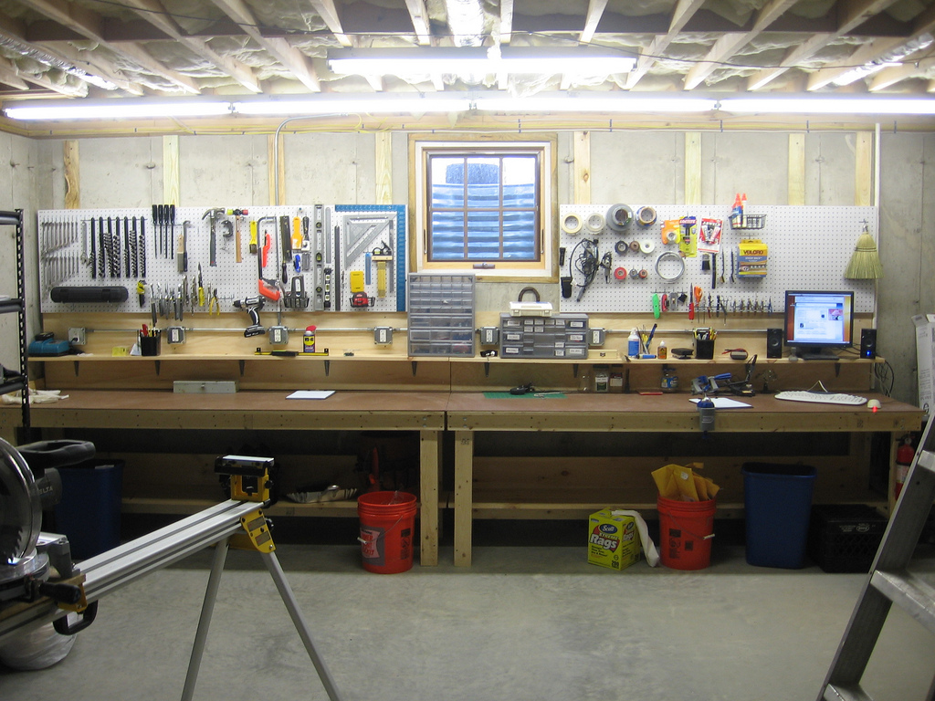 Workshop Countertop Dual Purpose Workbench Make