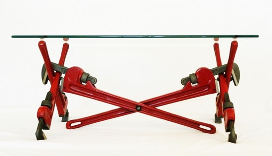 Couchtisch Little & Nice Pipe Wrench Coffee Table Make