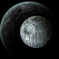 Death Star Cake by Smurfesque