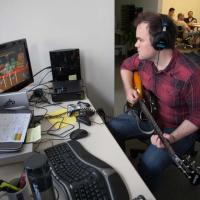 Rocksmith developer hard at work