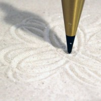 Sand pendulum figure