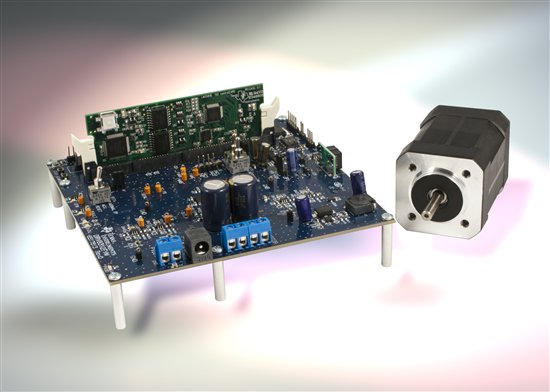 BLDC Motor Control Development Tool, Image Courtesy TI