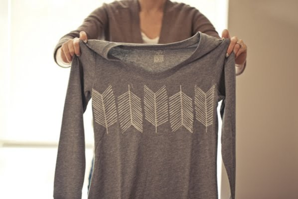 Arrow Stamped t-shirt