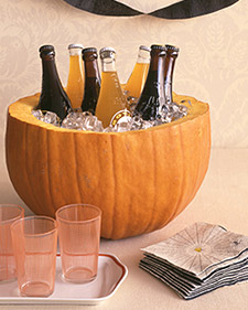 pumpkin party cooler