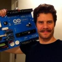 That is a moustache. This is a caption.