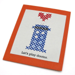 See the post: Doctor Who TARDIS Cross-Stitch Valentine