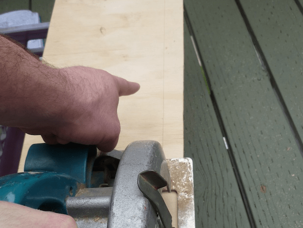 Take a close look at where the blade touches your mark, but after that, follow the line just ahead of the saw. The idea is similar to that of follow-through in sports. You'll end up with a much straighter line.