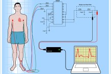 DIY ECG schematic