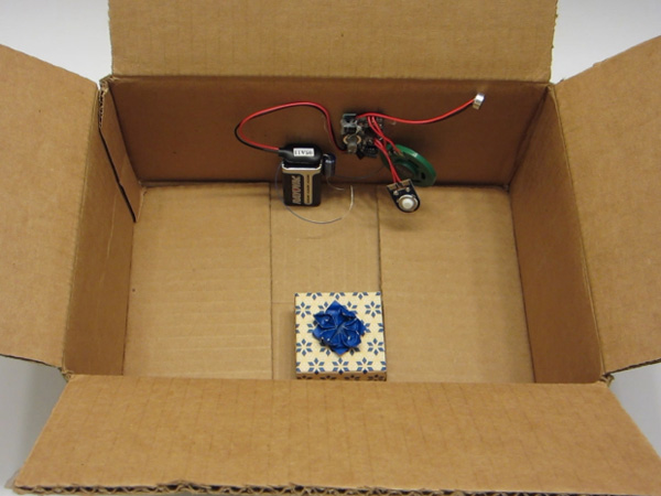 Jason Poel Smith also wrote this clever prank for Make: Projects -- a recording module that activates when the box is shaken.