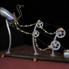 Made On Earth — Kinetic Fauxbot Sculptures
