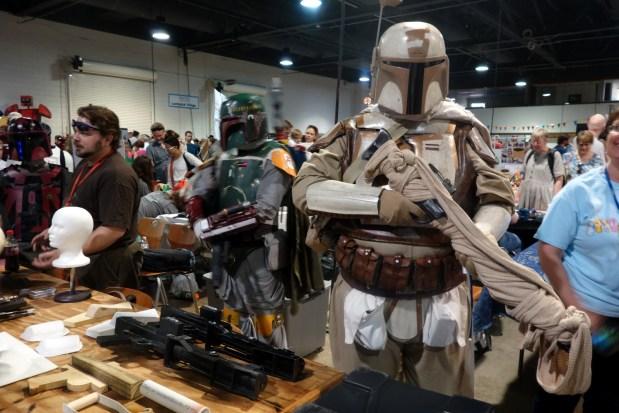 The Carolina Garrison of the  501st Legion was representing in full gear!