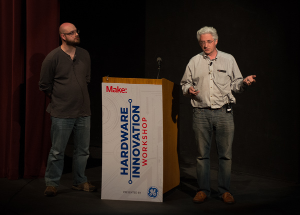 Syntheos co-founders Alden Hart, right, and Rob Giseburt.