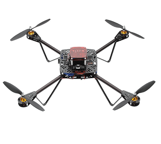 ELEV-8 Quadcopter. $599. Spend a weekend building the ELEV-8 kit with dad and then take it to the skies! This quad is powerful enough to lift a small camera (up to 2 lbs.), so you can experiment with aerial photography. Don't forget to pick up a crash pack as well, since dad will probably need to replace a few props after some practice sessions.--Eric Weinhoffer.