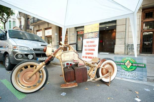 Elektroxoc, the steampunk-inspired electric chopper.