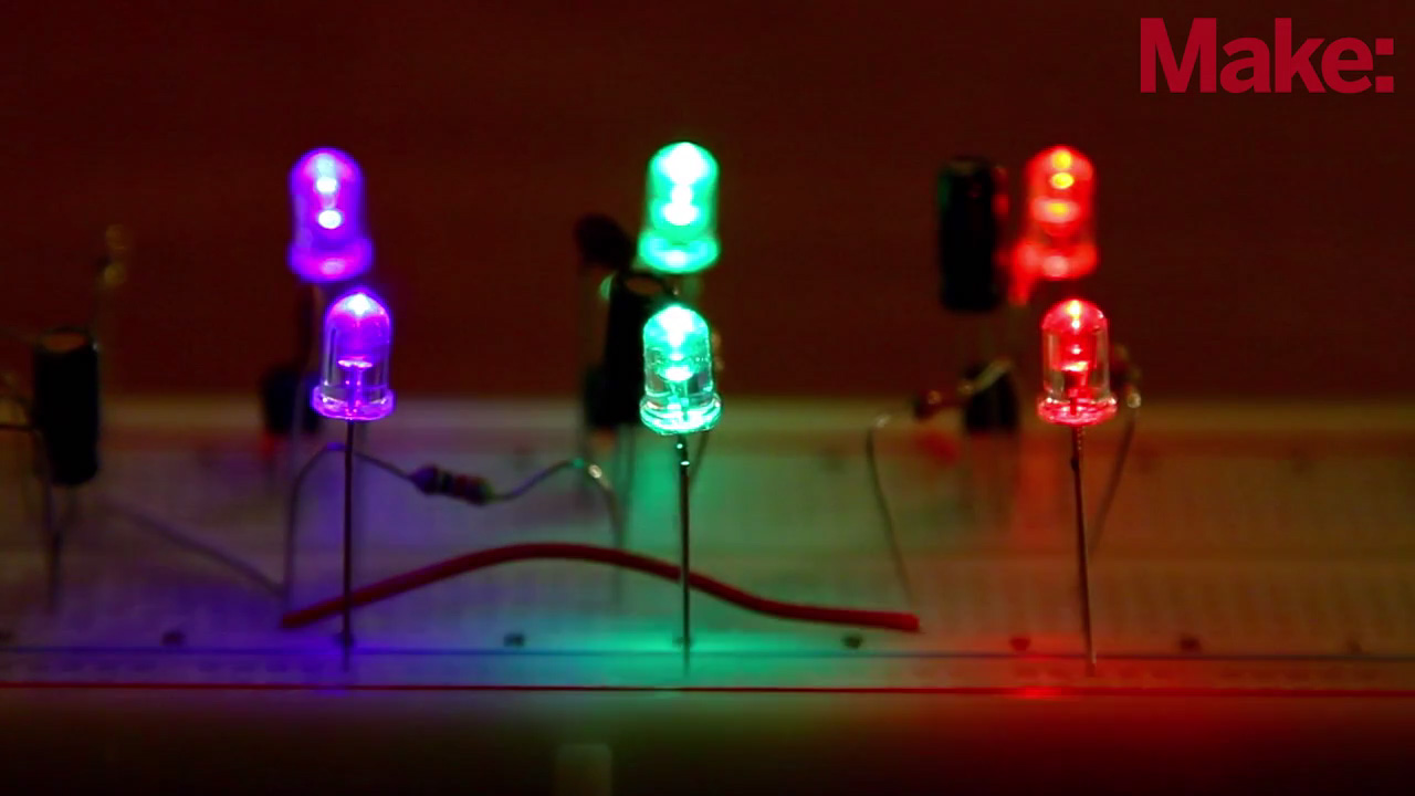 Easy Led The Easy Led Color Organ Get Ready To Rock With Weekend Projects