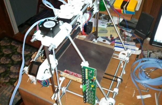 Assembling a RepRapPro by Clark Ward
