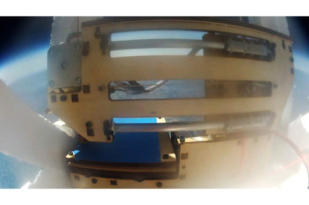 Printrbot in Space. Photo: Courtesy Darwin Aerospace/Yelp