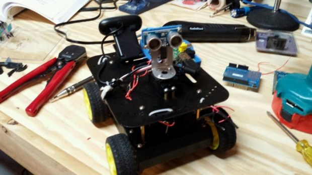 @electromanic: My rover is almost done.