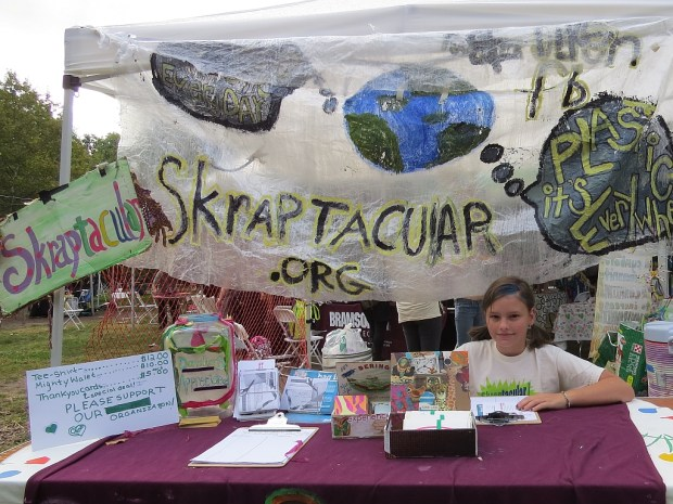 Make art and help save the earth with Skraptacular.