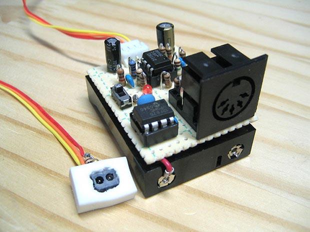 Heartbeat midi controller (link)