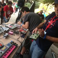 Circuit bending and beats show turned rapidly tu