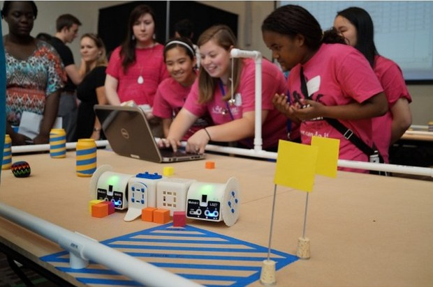 Learn robotics by mastering a challenge.