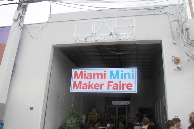 Miami Mini Maker Faire at The LAB Miami.