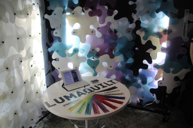 Lumaquilt is an eco-friendly system for building or decorating made from recycled milk jugs!