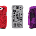 "FreshFiber smartphone cases come in a variety of colors and textures and versions are available for several popular phone brands:  HTC One, Galaxy S4, Samsung Galaxy S3, Galaxy Note 2 and of course the iPhone (5c, 5s, and 4s).  The ""Maille"" case (shown in red) and ""Godiva Clutch"" purse (shown in purple) are inspired by medieval chain mail, reimagined to create a contemporary style statement."