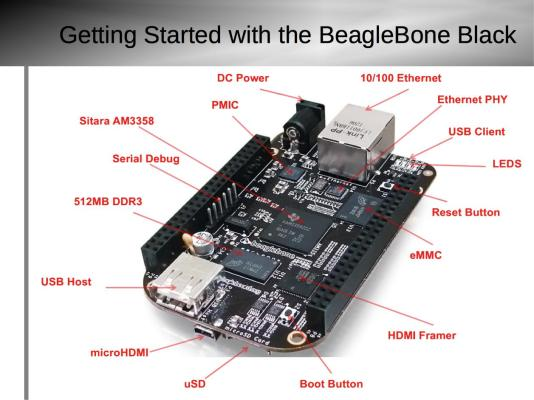 Getting Started with BeagleBone Black Slide4
