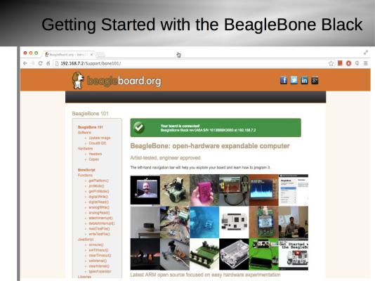 Getting Started with BeagleBone Black Slide6