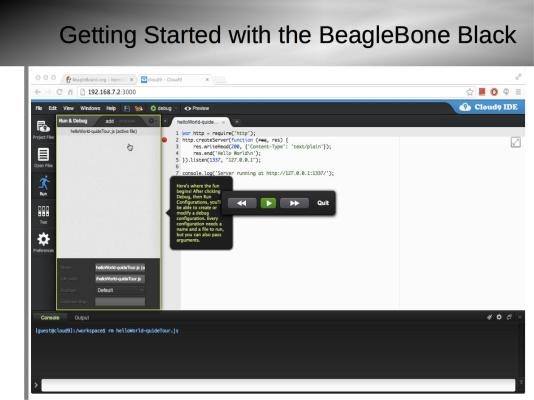 Getting Started with BeagleBone Black Slide9